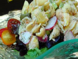 Old Fashioned Salmon Pasta Salad Recipe Feat Lyndsay As A Stepford Wife