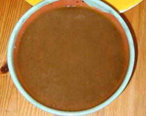 Microwaved Brown Gravy