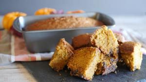 Pumpkin Bread 1018661 By Foodguruchannel