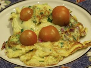 Fluffy Egg Omelette