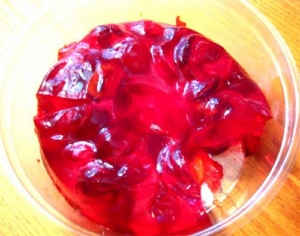 Dairy Free Cherry Wine Mold