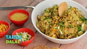 Bhel Puri Recipes In Hindi 1018950 By Tarladalal