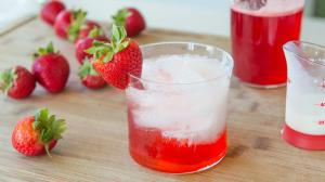 Strawberry Italian Cream Soda Nonalcoholic Drink Miniseries 1017139 By Fifteenspatulas
