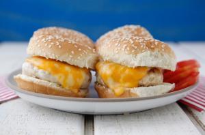 Bbq Chicken Burgers 2