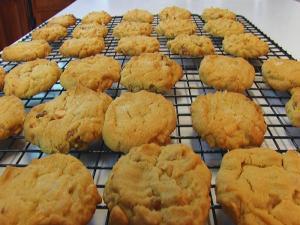 Bettys Peanut Butterscotch Cookies