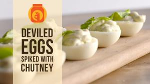 Diy Devilled Eggs Spiked With Chutney 1016295 By Beingindiansawesomesauce