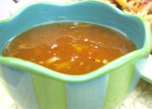 Sweet And Sour Apricot Sauce