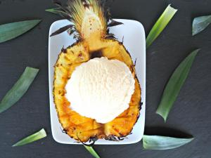 Dessert Recipe Bruleed Pineapple 1017338 By C 4 Bimbos