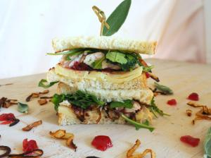 Sandwich Recipe Turkey Caramelized Onion And Cranberry Sandwich 1019211 By C 4 Bimbos