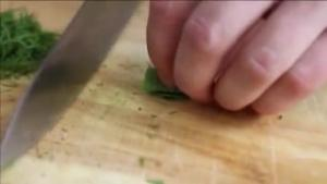 Knife Skill How To Chiffonade Leafy Herbs 1018447 By Seriouseats