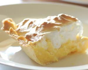 Lemon Meringue Shortcrust Pie