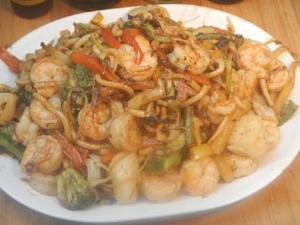 Shrimp And Scallop Stir Fry