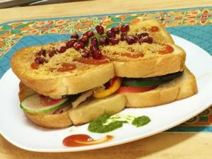 Bollywood Masala Sandwich