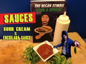 Vegan Sour Cream Enchilada Sauce
