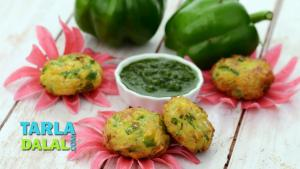 Corn And Capsicum Tikki 1017718 By Tarladalal