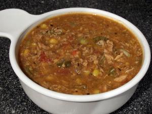 Spicy Hamburger Soup