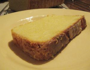 Pound Cake With Lemon Sauce