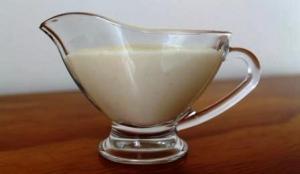 Blender White Sauce