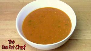 Thick Tomato Soup One Pot Chef