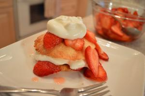 How To Make Strawberry Shortcakes From Scratch 1016816 By Cookingwithkimberly