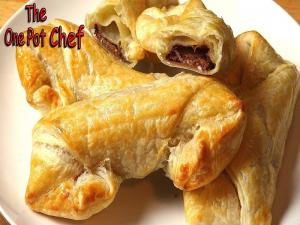 Cheaters Chocolate Croissants