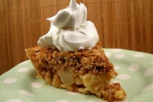 Crunch Top Pear Pie