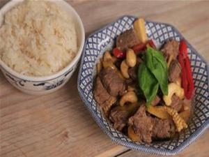 Chilli Beef Stir Fry With Cashew Nuts