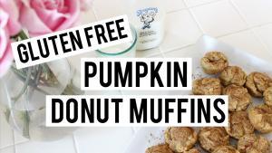 Gluten Free Pumpkin Donut Muffins
