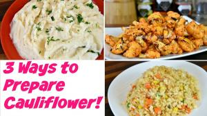 Sriracha Roasted Cauliflower Fried Rice Cauliflower Cauliflower Puree Recipes 1019768 By Cookingwithcarolyn