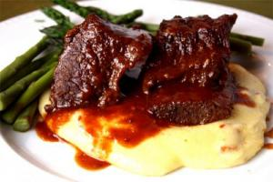 Pan Fried Beef Ribs