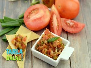 Garlic Tomato Salsa