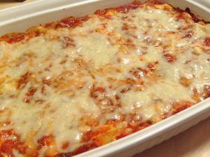 Baked Ziti With Italian Tomato Sauce