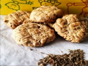 How To Make Jeera Cookies Cumin Flavoured Salty Cookies Mothers Day Special