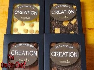 Custom Chocolate Blocks