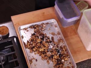 Oatmeal In Granola