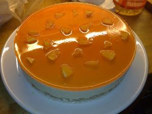 Orange Glazed Cake