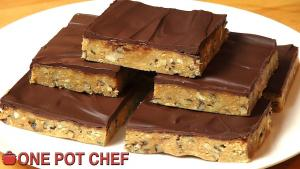 No Bake Chocolate Crunch Slice 1019237 By Onepotchefshow
