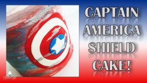 Captain America Shield Cake 1015946 By Creativecakesbysharon