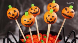 Best Pumpkin Shaped Halloween Party Snacks