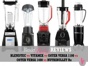 Blendtec Vs Vitamix Vs Oster Vs Nutribullet 1