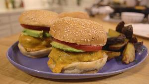 Turkey Zucchini Burgers With Tahini Sauce 1015988 By Grateandfull