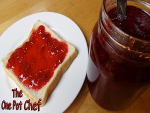 Microwave Strawberry Jam