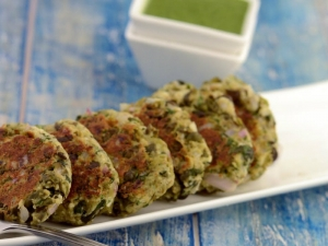 Hare Chane Ke Kebab Pregnancy Iron And Calcium Rich Recipe By Tarla Dalal