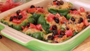 Chicken Enchilada Stuffed Pepper 1015562 By Divascancook