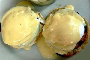Dairy Free Eggs Benedict