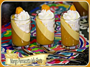Mango Pannacotta Jelly Shots