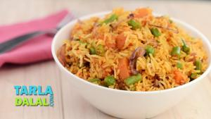 Spicy Vegetable Pulao 1019481 By Tarladalal