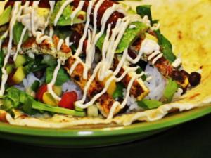 Burrito Homemade Vegan Burrito