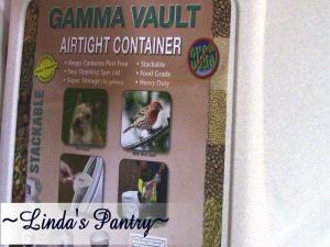 Gamma Vault Review With Lindas Pantry