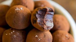 Salted Caramel Whisky Chocolate Truffles